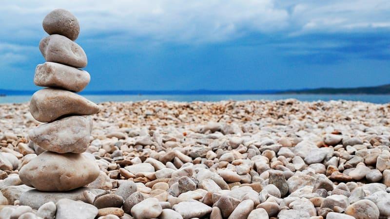 Камень море берег  № 1356386  скачать