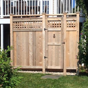 cedar shower kit deluxe free stading
