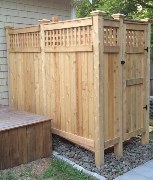 outdoor showers ideas plans kits