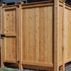 outdoor shower designs plans kit