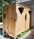 outdoor-shower-kit-cedar-deluxe-long-housemount-Cape-Cod-MA