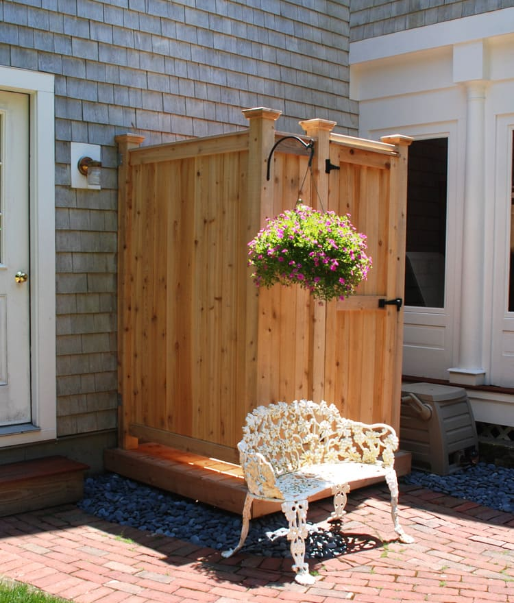 Outdoor Shower Ideas Enclosures Kits CT NY FL