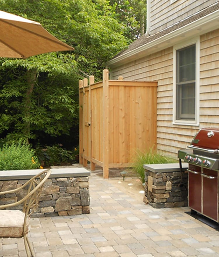 outdoor showers ny nj cedar