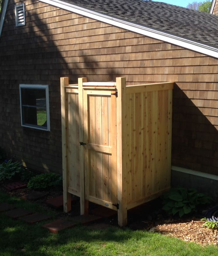 dfs outdoor ny kit shower enclosures enclosure product standing cod cape deluxe free fl ma showers va cedar nj ct designs