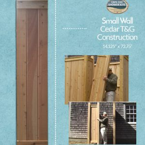 outdoor shower wall panels cedar t&g