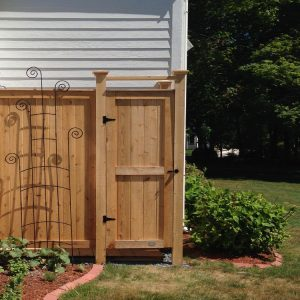 outdoor shower designs custom
