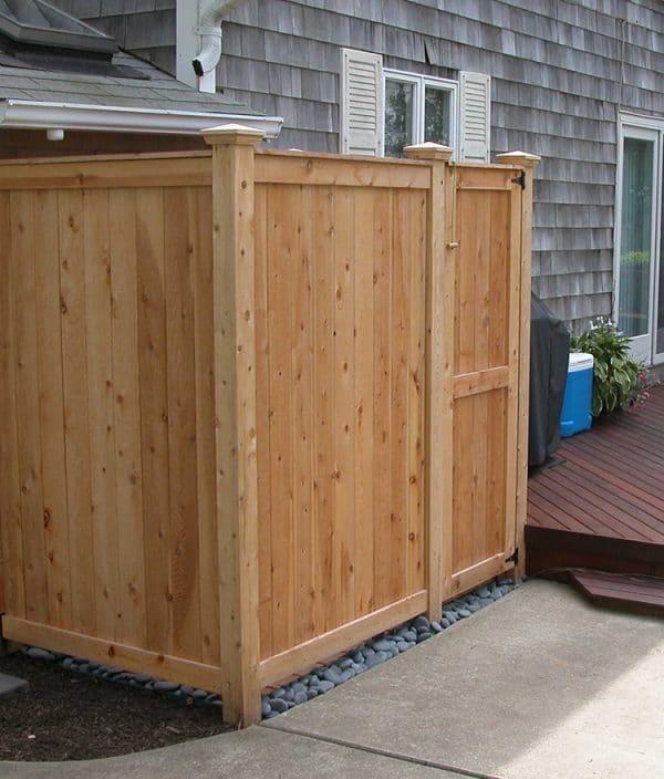 outdoor shower enclosures nantucket ma